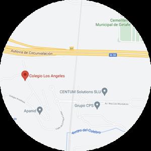 Colegio Los Ángeles ubicación
